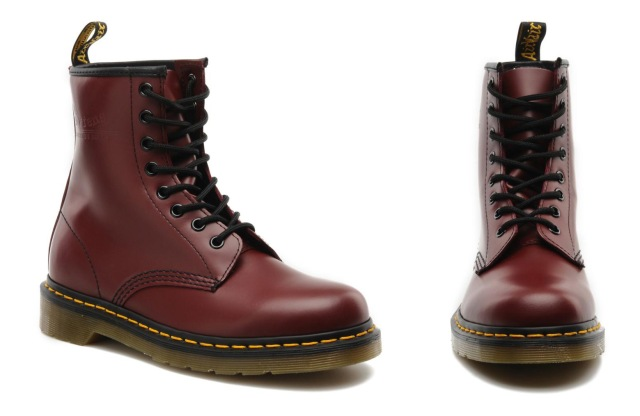 drmartens burgundy red sarenza