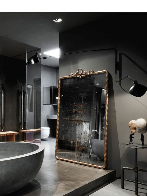 black bathroom inspiration