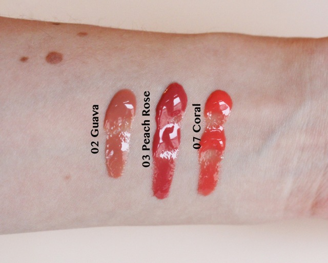 Kiko unlimited lipgloss 02 03 07