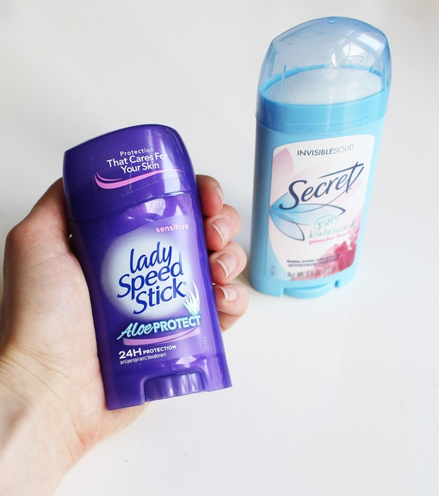 lady speed stick deodorant secret