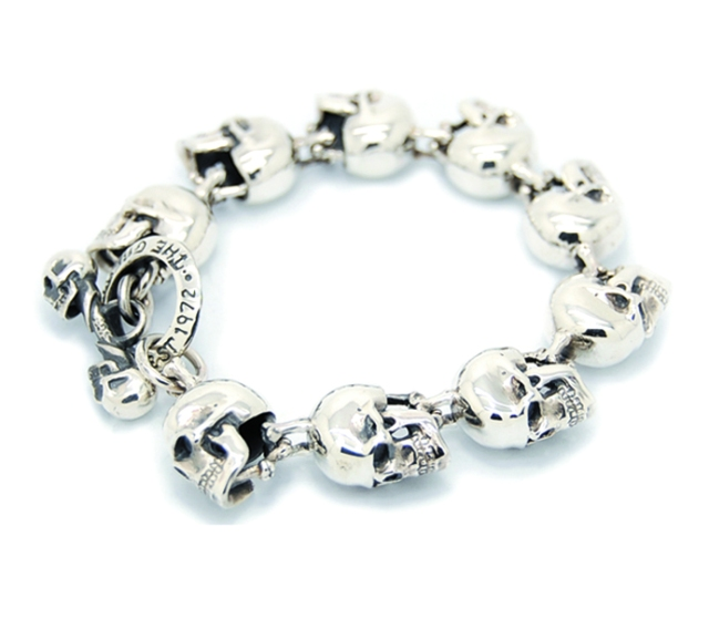 large skull bracelet great frog london