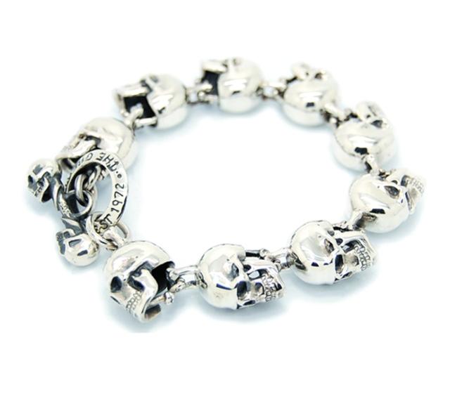 large skull bracelet great frog london