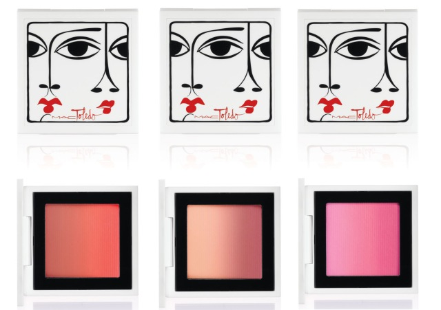 Mac toledo blushes overview