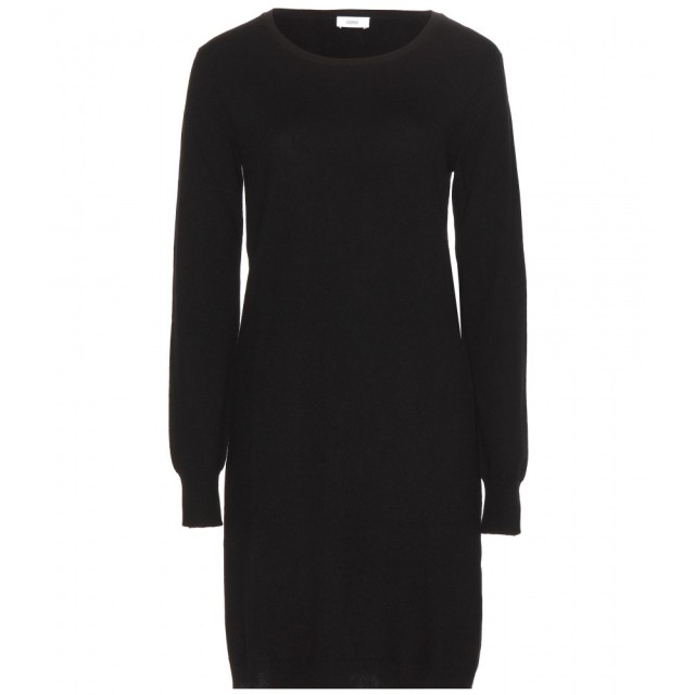 cashmere sweater dress round neck claudia schiffer