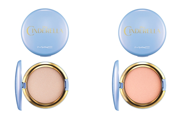 MAC limited cinderella beauty powder mystery princess iridescent pressed powder coupe d chic