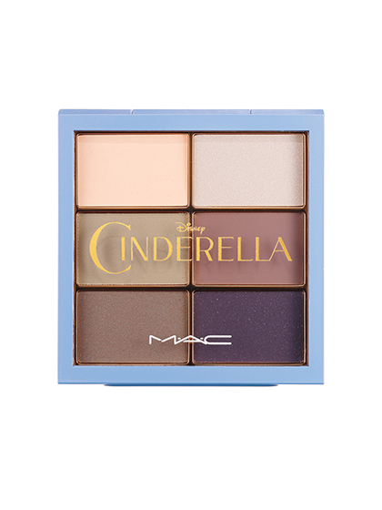 MAC limited cinderella eye shadow palette stroke of midnight