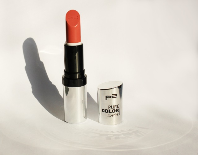 P2 pure color lipstick brooklyn bridge swatch -3