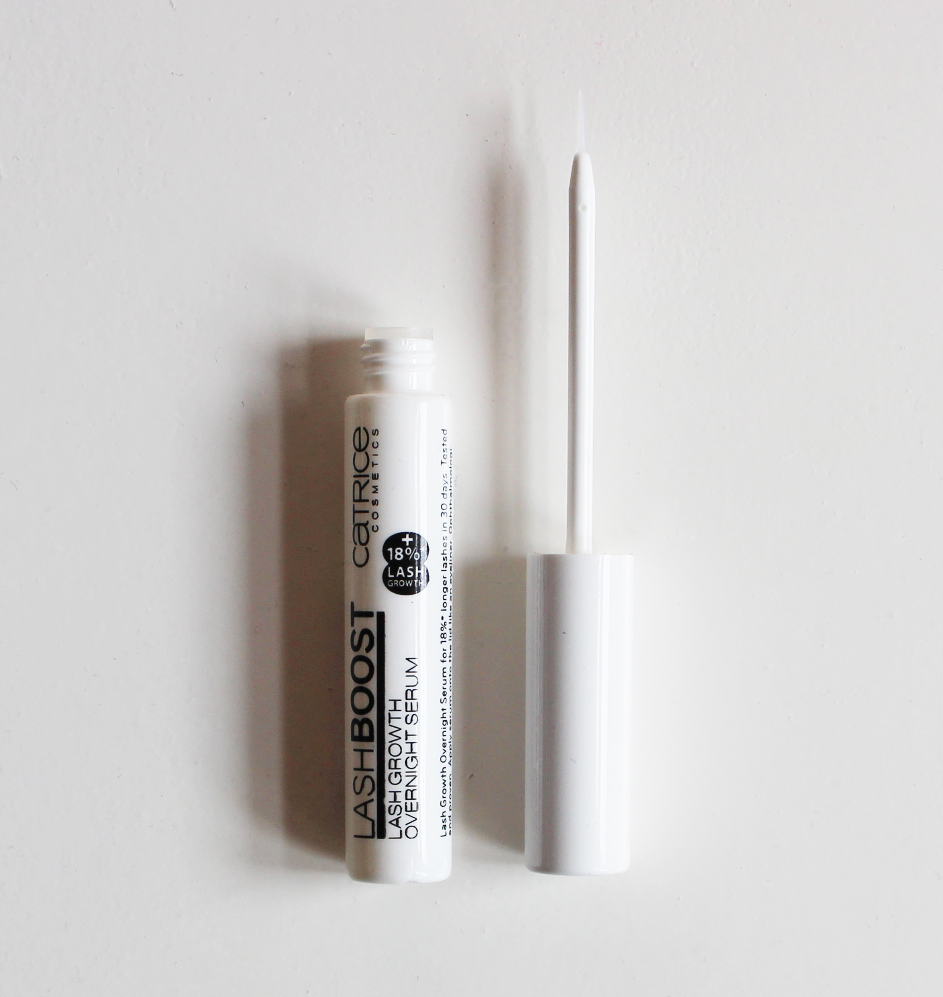 Catrice Lash Boost Growth Overnight Serum Review Day 1