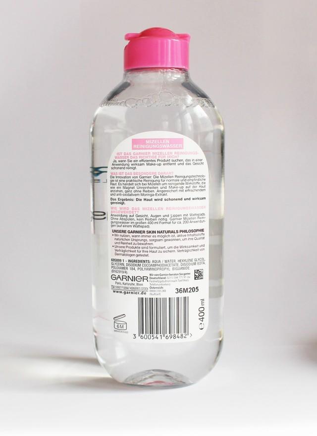 Garnier Mizellen Reinigungswasser micellar water