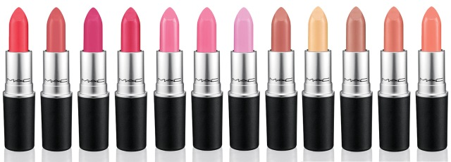 MAC is Beauty Spring 2015 12 Lipsticks