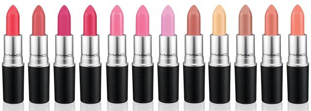 MAC is Beauty Spring 2015 12 Lipsticks
