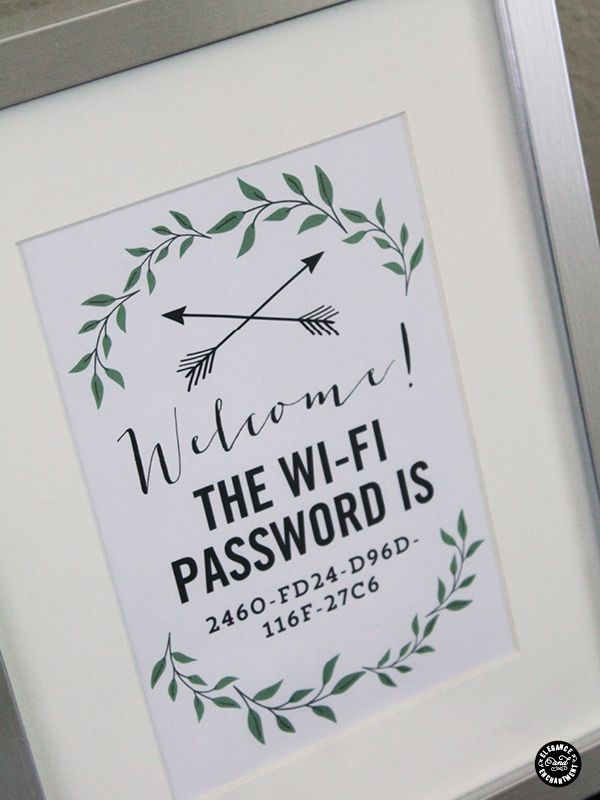 welcome wifi password