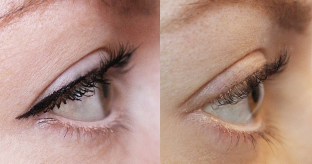 Catrcie Lash Boost Growth Overnight Serum Before After -3