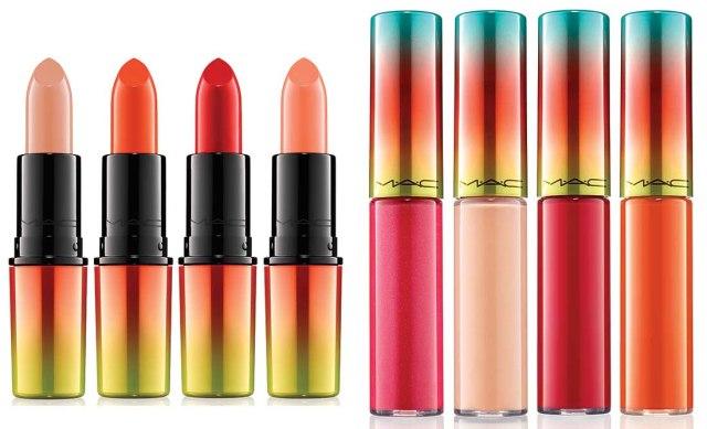 Mac wash & dry lipstick lipglass