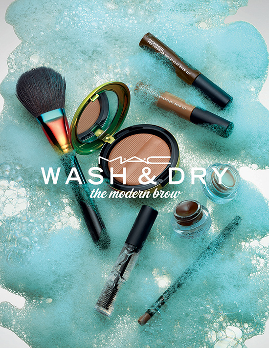 Mac wash & dry the modern brow