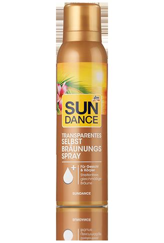 sundance dm selbstbräuner spray