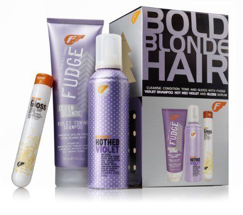 fudge violet blonde hair