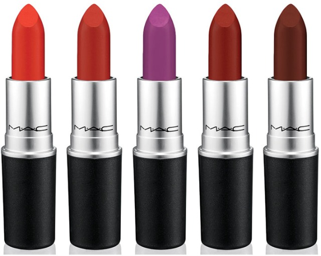 MAC the matte lip collection
